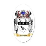 Nitschold Oval Car Magnet