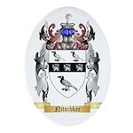 Nitschker Oval Ornament