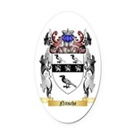 Nitsche Oval Car Magnet