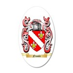 Nissle 20x12 Oval Wall Decal