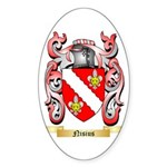 Nisius Sticker (Oval 50 pk)
