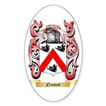 Nisbett Sticker (Oval 50 pk)