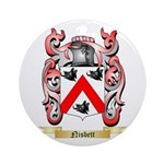 Nisbett Round Ornament
