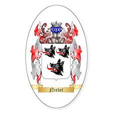 Nisbet Sticker (Oval)