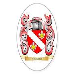 Nisard Sticker (Oval 10 pk)