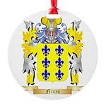 Ninyo Round Ornament
