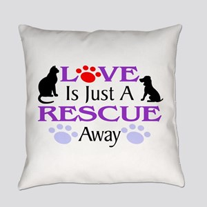 Love & Rescue Everyday Pillow