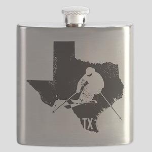 Ski Texas Flask