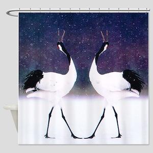 Egrets Shower Curtain