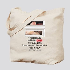 Emily the Pig Tote Bag