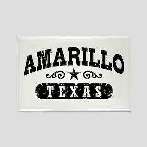 Amarillo Texas Rectangle Magnet