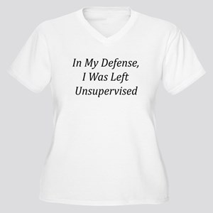 In My Defense Plus Size T-Shirt