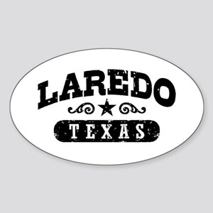 Laredo Texas Sticker (Oval)