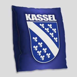 Kassel Burlap Throw Pillow
