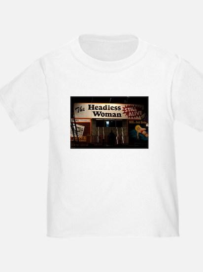 Headless Woman T-Shirt