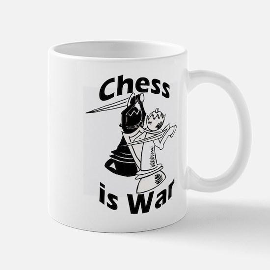 Chess Is War Mugs