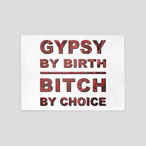 GYPSY BY BIRTH... 5'x7'Area Rug
