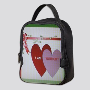 I AM YOUR GIFT Neoprene Lunch Bag