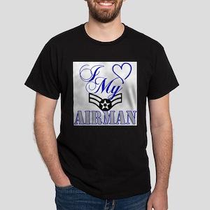 I Love My Airman women's shir T-Shirt