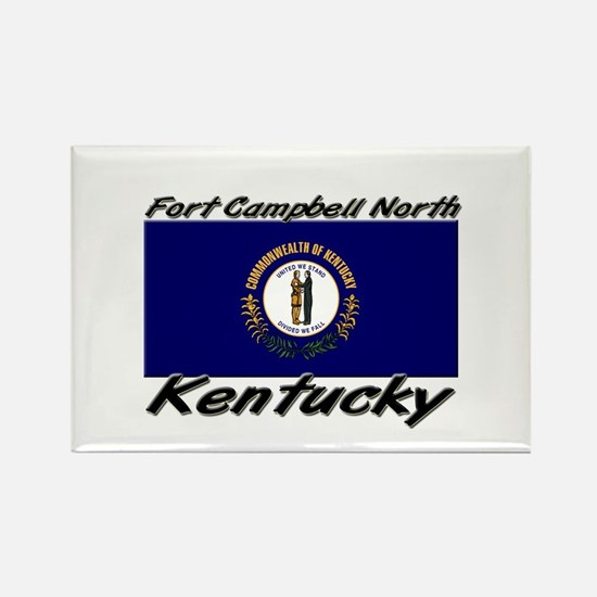 Fort Campbell North Kentucky Rectangle Magnet