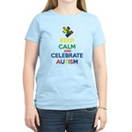 Keep Calm and Celebrate Auti Women's Light T-Shirt