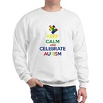 Keep Calm and Celebrate Autism Sweatshirt