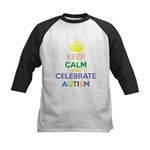Keep calm Kids Baseball Jersey