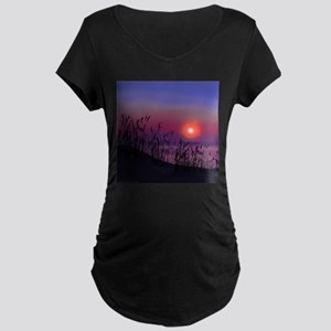 Sunrise on the Great Lakes Maternity T-Shirt