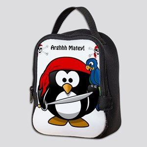 Penguin The Pirate Neoprene Lunch Bag