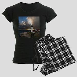 Lighthouse Lookout Women's Dark Pajamas