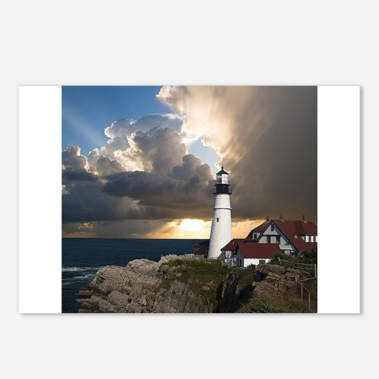 Lighthouse Lookout Postcards (Package of 8)