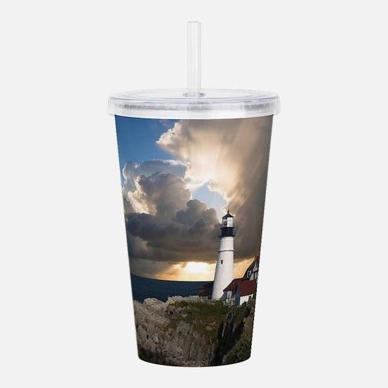 Lighthouse Lookout Acrylic Double-wall Tumbler