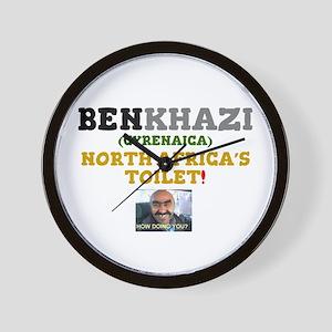 BENGHAZI - BENKHAZI (CYRENAICA) NORTH A Wall Clock