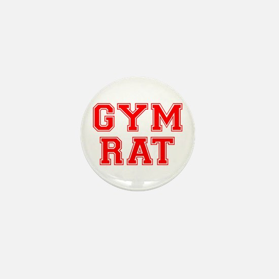 gym rat Mini Button