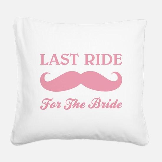 LAST RIDE Square Canvas Pillow