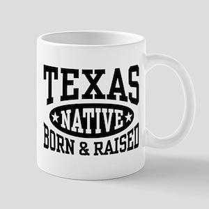 Texas Native Born and Raised Mug
