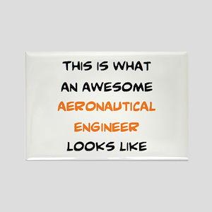 awesome aeronautical Rectangle Magnet
