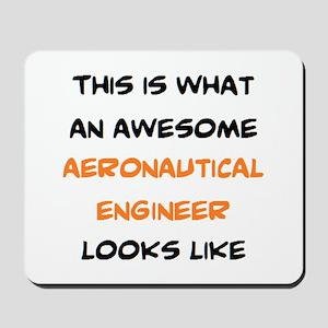 awesome aeronautical Mousepad