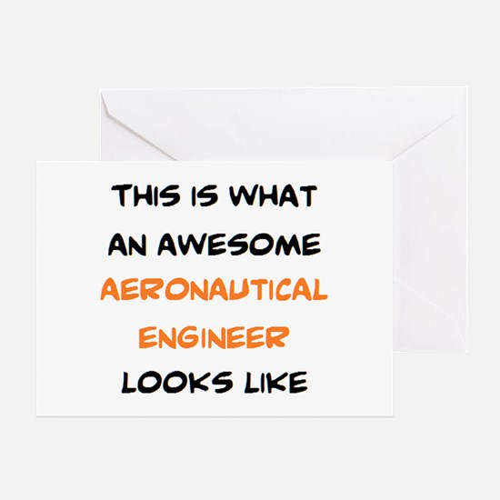 awesome aeronautical Greeting Card