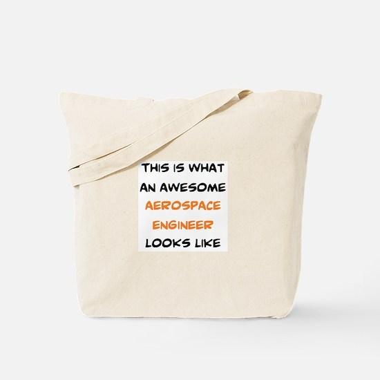 awesome aerospace Tote Bag