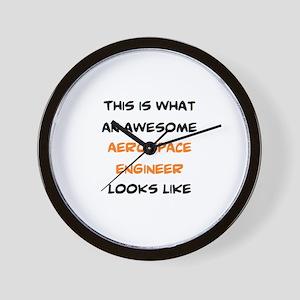 awesome aerospace Wall Clock