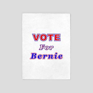 Vote For Bernie 5'x7'Area Rug
