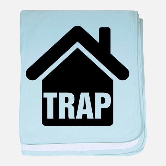 Trap House baby blanket