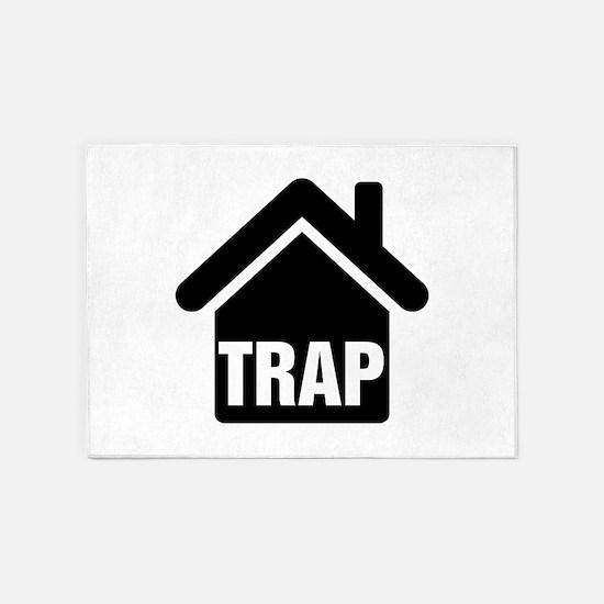 Trap House 5'x7'Area Rug
