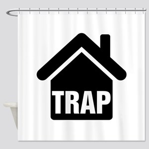 Trap House Shower Curtain