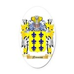 Ninness Oval Car Magnet