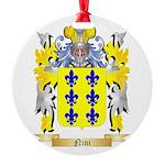 Nini Round Ornament
