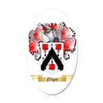 Nilges Oval Car Magnet