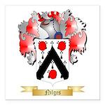 Nilges Square Car Magnet 3