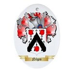 Nilges Oval Ornament